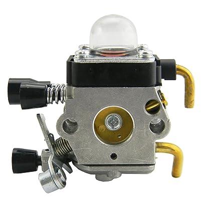 amazon com carburetor carb for stihl km55 hl45 km55r fs45c fs45l rh amazon com