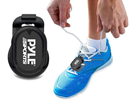 Circular Haz un experimento talento  Pyle Smart Foot POD Stride Sensor For iPhone 6, 6 plus 5, 5S, 5C & 4S and  Android Works MapMyRun, Wahoo Strava ala coach Apps Bluetooth LE Sensor:  Amazon.in: Sports, Fitness & Outdoors