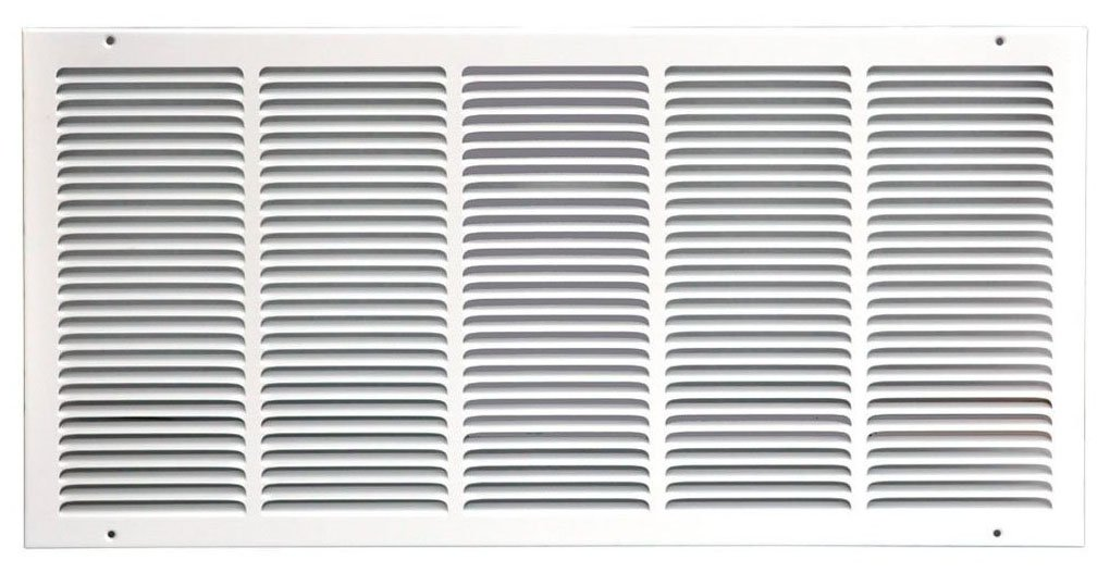 Speedi-Grille SG-3014 RAG 30-Inch by 14-Inch White Return Air Vent Grille with Fixed Blades by Speedi-Grille
