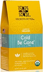 Secrets of Tea Cold Be Gone Tea for Cold and Flu