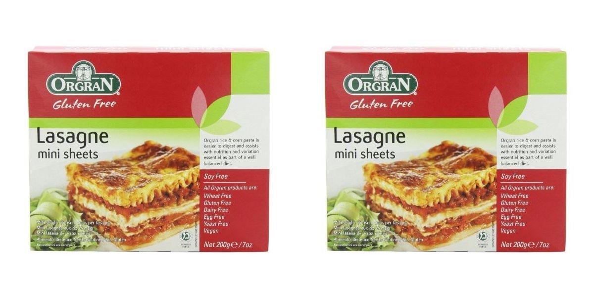 (2 PACK) - Orgran Rice & Corn Lasagne| 200 g |2 PACK - SUPER SAVER - SAVE MONEY