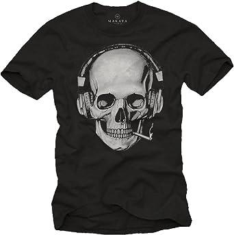 t-shirt tête de mort homme 7