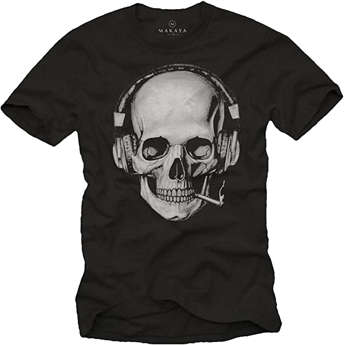 Acheter t-shirt homme tete de mort online 4