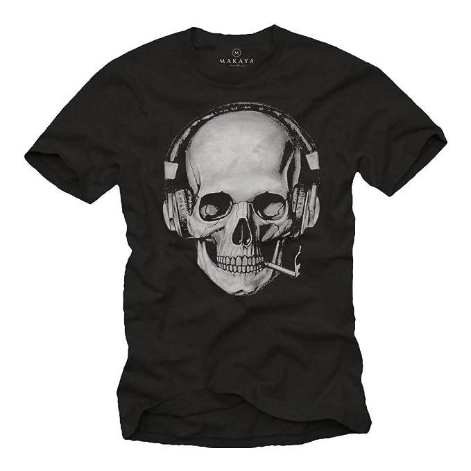 Camisetas Hombre Makaya Calaveras Calaveras Hombre Camisetas Makaya Calaveras Makaya Hombre Camisetas eH2bDYWE9I