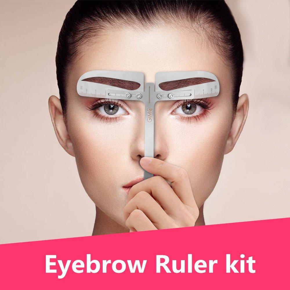 Amazon Eyebrow Stencil Ruler Kit Includes 8 Group Eyebrow