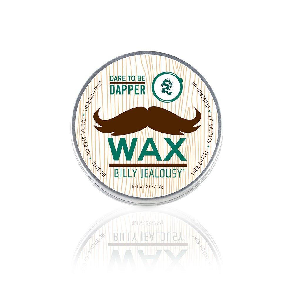 Bulletproof Dare to be Dapper by Billy Jealousy for Men - 2 oz Mustache Wax BJ-0895