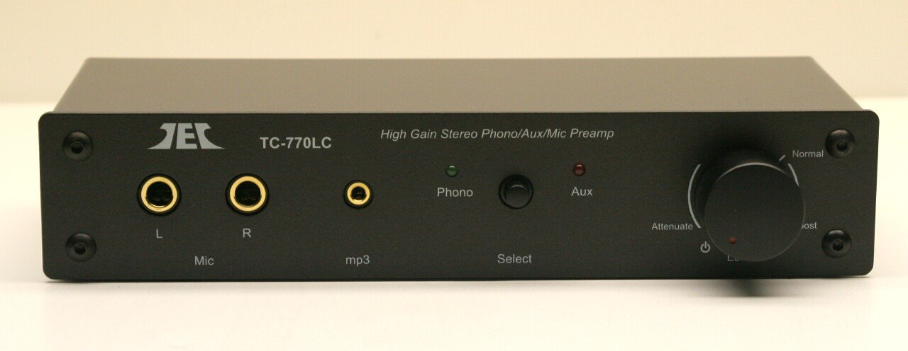 Technolink TC-770LC High Gain Phono/Mic/Aux Preamp by Phono Preamps