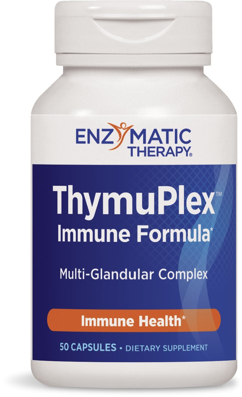 Nature's Way ThymuPlex Immune Formula, 50 Count by Enzymatic Therapy