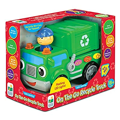 The Learning Journey Early Learning – On The Go Recycle Truck – Baby and Toddler Toys & Gifts for Boys & Girls Ages 18 months and Up – Award Winning Toy: Toys & Games