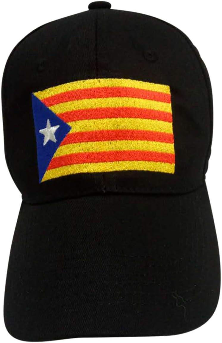 Gorra Unisex Bandera Catalana Estelada: Amazon.es: Ropa y accesorios