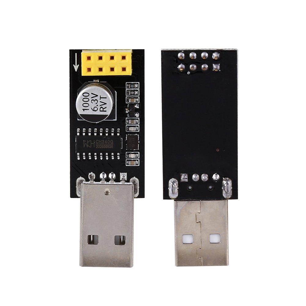 Amazon.com: Walfront USB a ESP8266 Comunicación inalámbrica ...