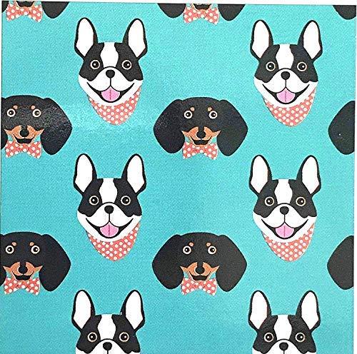 Warm & Snuggly Boston Terrier Dachshund Weiner Dog Throw Blanket 50x60 ()