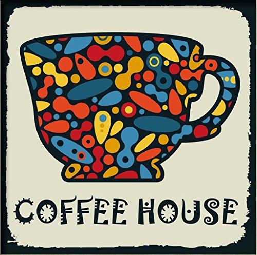 PaintingStudio Color kaleidoscope coffee cup DIY oil Painting