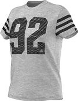 Adidas 92 Adixxx - Camiseta para Mujer, Color Gris, Talla L: Amazon.es: Deportes y aire libre