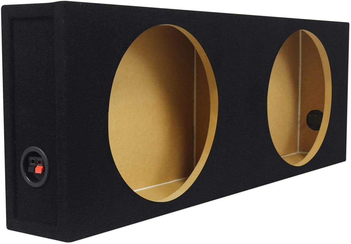 Rockford Fosgate P3SD4-12 12 Subwoofers Rockville Shallow Box Enclosure for 2
