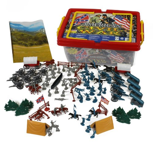 Civil Protection Toys : Civil war playset in carrying case by hingfat toys games