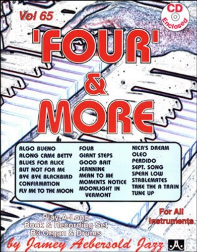 Vol. 65, 'Four' And More (Book & CD Set) by Jamey