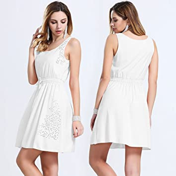 Vestidos para fiesta blanca mujer