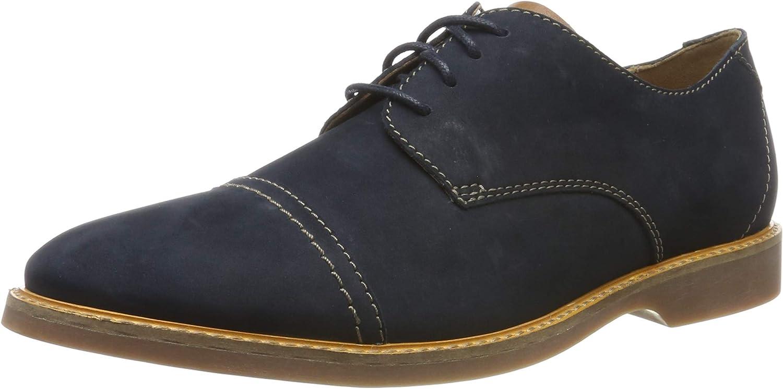 Clarks Atticus Cap, Zapatos de Cordones Derby para Hombre