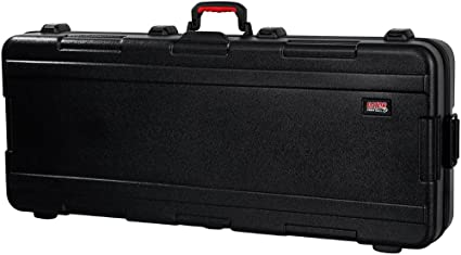 99031996b3 Gator Cases Molded Flight Case for Slim Extra Long 88-Note Keyboards with  TSA Approved