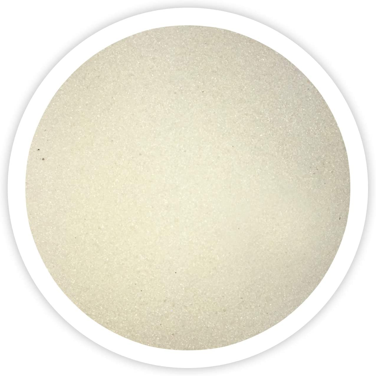 Sandsational Ivory (Butter) Unity Sand~1.5 lbs (22oz), Cream Colored Sand for Weddings, Vase Filler, Home Décor, Craft Sand