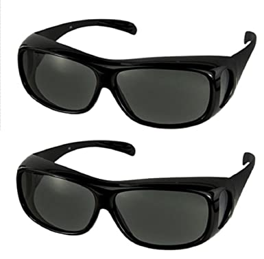 4ea1801ee256 Amazon.com  Polarized Fit Over Sunglasses 2866