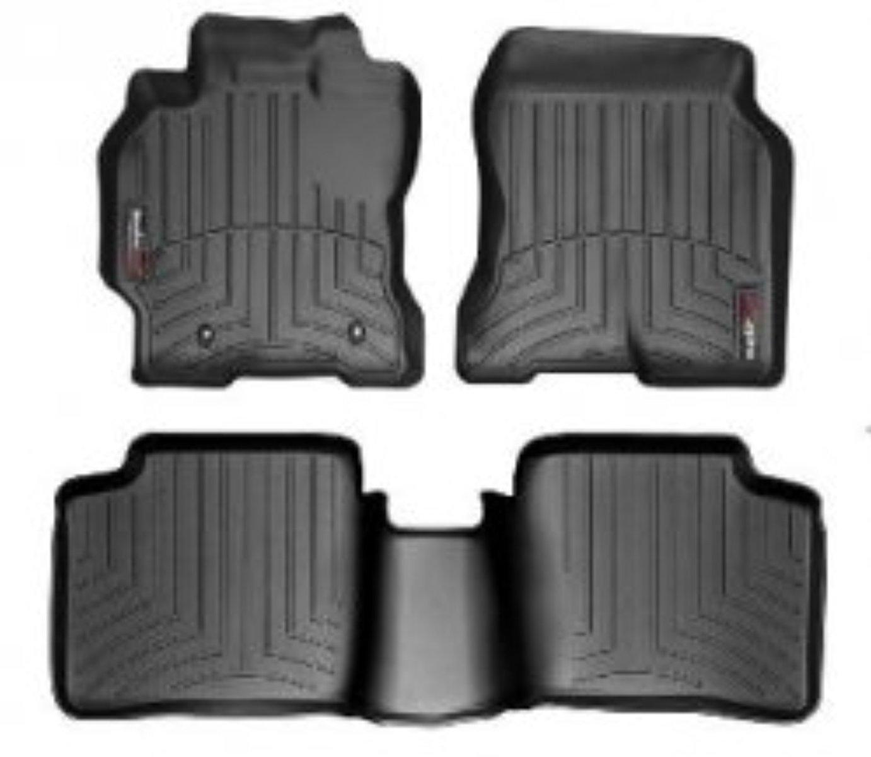 Black WeatherTech FloorLiner for Nissan Pathfinder//Xterra 2005-2008 1st Row