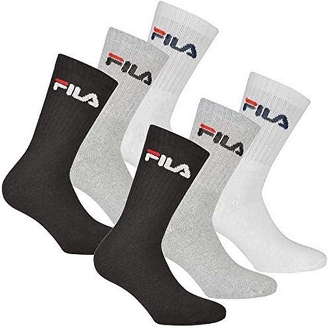 timeless design for whole family on feet images of Fila 6 Paar Socken, Frottee Tennissocken mit Logobund, Unisex (2 x 3er Pack)