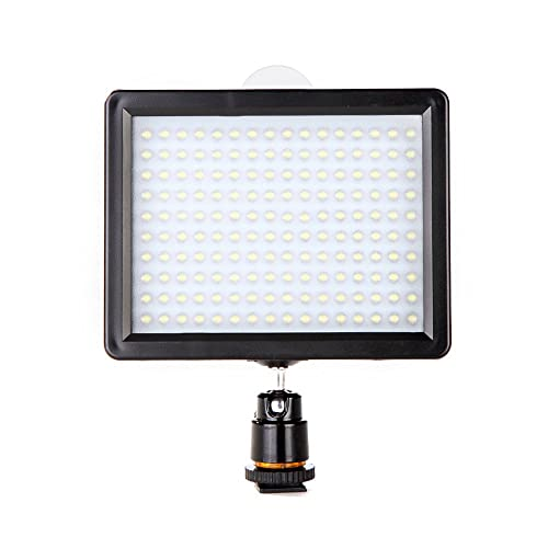 Andoer 12W 1280LM Dimmerabile 160 LED Panel Lampada per Canon Nikon Pentax DSLR Video Camcorder