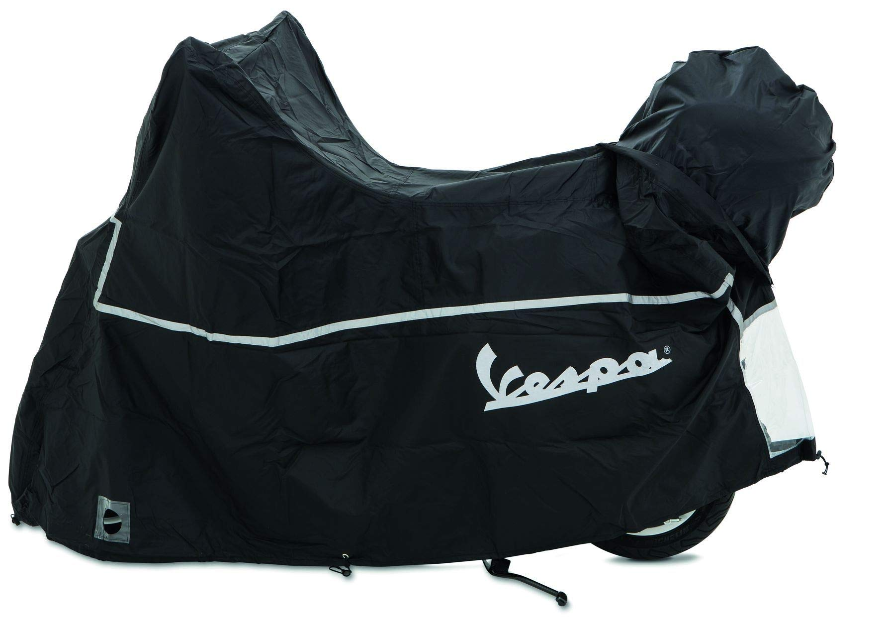 OEM Original Piaggio Vespa Scooter Cover with Top Case Waterproof Outdoor - size XL for Vespa Gt Gts Super Gtv Gt60 125cc 250cc 300cc All Weather Scooter Garage by Vespa
