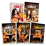 2 Broke Girls dvd pack season 1-5, one, two, three, four and five
