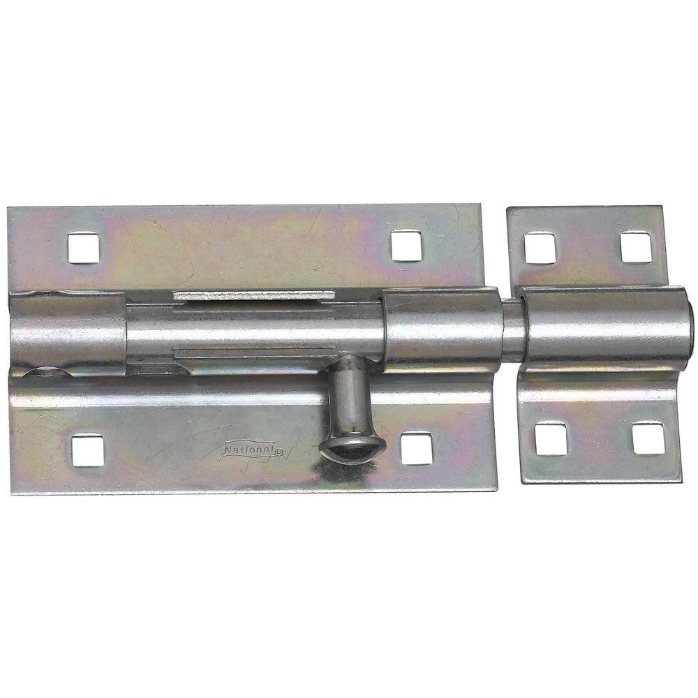 National Hardware N151-118 V832 Extra Heavy Barrel Bolt in Zinc plated