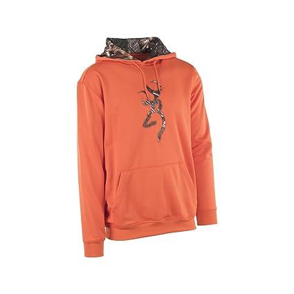 Browning para Hombre Willamette Sudadera, Realtree Xtra Camo, Naranja, tamaño Mediano, Pack