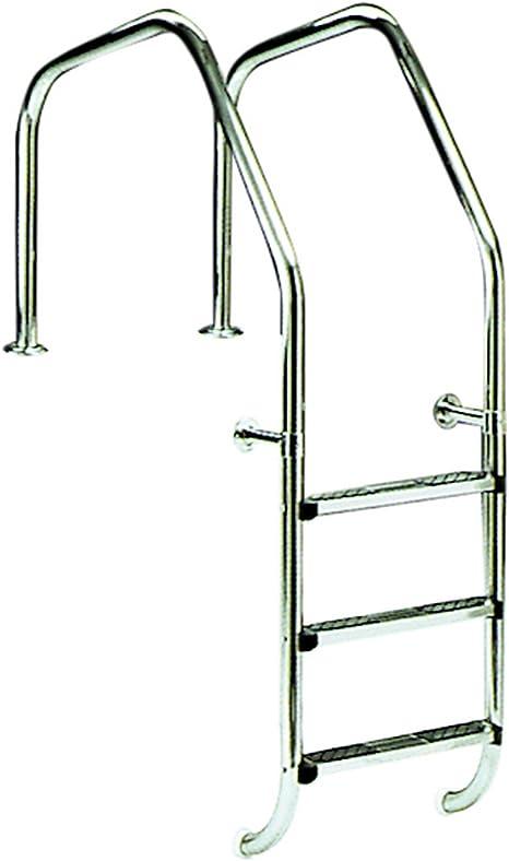 Escalera para piscina modelo 1000 para rebosadero 2 peldaños Luxe más peldaño de seguridad AstralPool: Amazon.es: Jardín