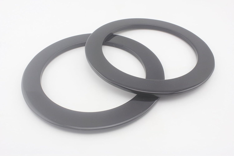 2 Pcs 1m 3.28ft 15mm Negro Tubo Manguitos termorretractiles Tuberia SODIAL R
