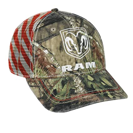 Image Unavailable. Image not available for. Color  Dodge Ram Mossy Oak  Country Americana Patriotic Hat ... a1d747ab8c02