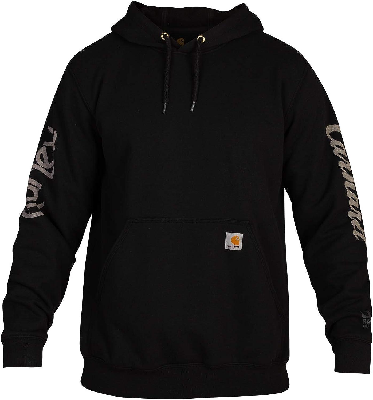 Hurley Men's Carhartt OG Fleece Pullover Hoodie: Clothing