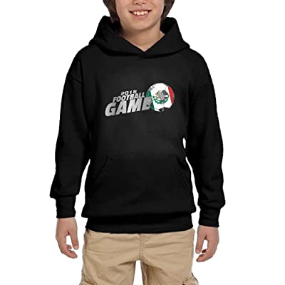 2018 Football Game Mexico Youth Unisex Hoodies Print Pullover Sweatshirts