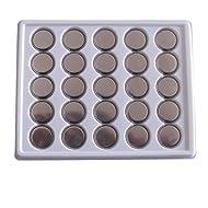 SkoTeRy 50 Pack CR2032 Lithium Battery 3V CR 2032 Coin Cell 230mAh Bulk