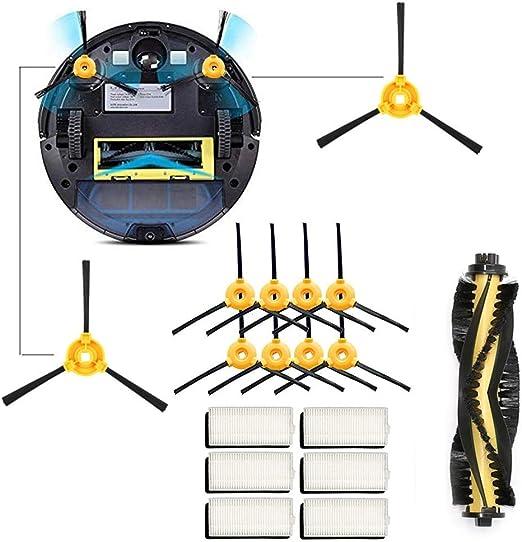 Luminiu Aspiradora Robot,Kit de Accesorios para Recambios para ...