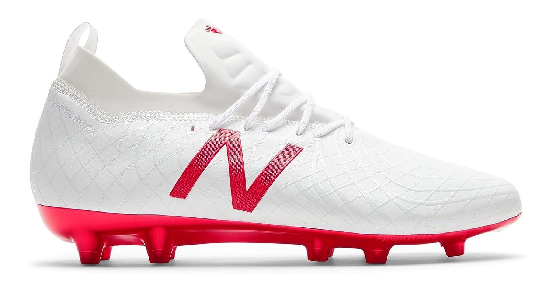[New Balance(ニューバランス)] 靴シューズ メンズサッカー Tekela Pro FG White with Flame ホワイト フレーム US 13 (31cm) B07DMS2PWC