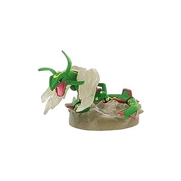 Pokemon Diamante y Perla Figura Gashapon Rayquaza: Amazon.es ...