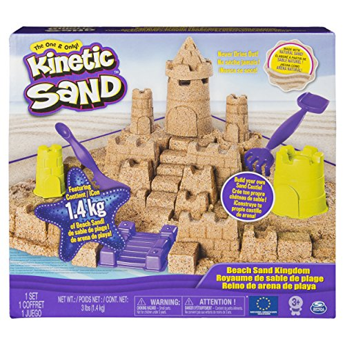 Kinetic Playset Set Castillo, Arena de Playa