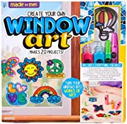 Made By Me Create Your Own Window Art by Horizon Group USA, Paint Your Own Suncatchers. Kit Includes 12 Pre-Pr