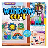 Made By Me Create Your Own Window Art by Horizon Group USA, Paint Your Own Suncatchers. Kit Includes 12 Pre-Printed Suncatchers + DIY Acetate Sheet, Window Paint, Suction Cups, & More, Assorted Colors: more info