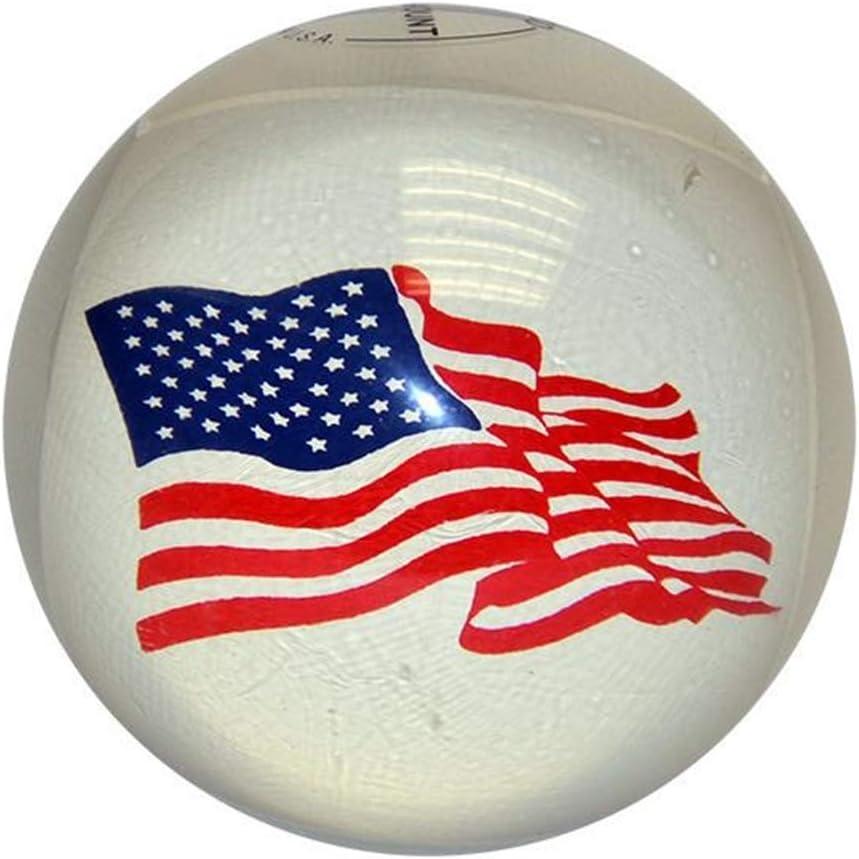 USA Flag Duckpin Bowling balls- 3ボールセット  4 7/8 inch- 3lbs. 8 oz.
