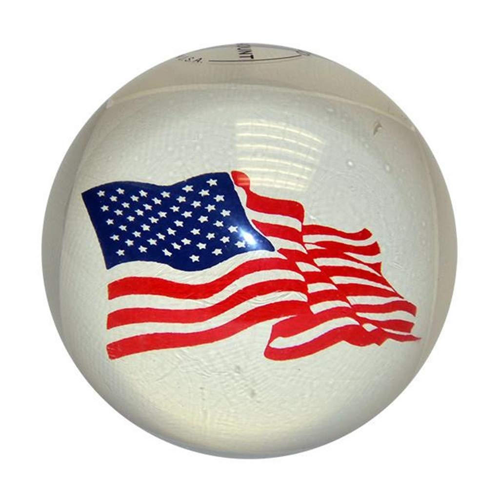 USA Flag Candlepin Bowling balls- 4ボールセット B00EPMAKQI  2lbs 6 ounces