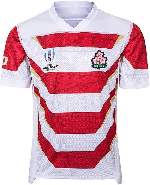 Copa Mundial De Rugby Camiseta del Equipo De Japón 2019 2018 Camiseta De Manga Corta para Hombres Polo (Size : M): Amazon.es: Hogar