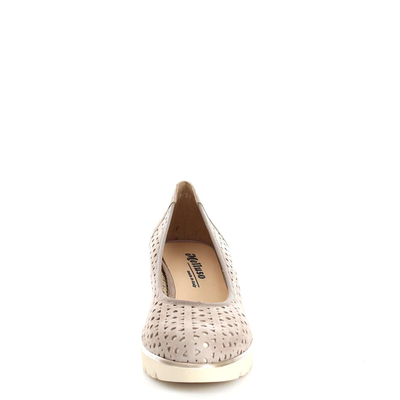 Et Melluso Femme Escarpins Chaussures Pour Beige Beige AqvrAYf