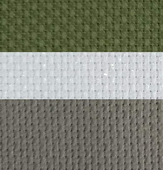 AIDA 18 COUNT WHITE CROSS STITCH FABRIC MATERIAL 100/% COTTON **10/% OFF 3+**